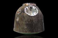 Spacecraft manned reentry capsule Stock Images