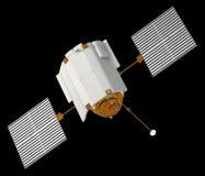 Spacecraft Messenger. MESSENGER in robotic NASA spacecraft orbiting the planet Mercury. 3D Model Royalty Free Stock Images