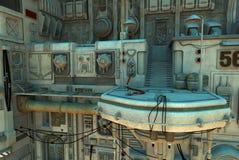 Spacecraft platform 2 Stock Image