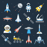 Spacecraft shuttle exploration Royalty Free Stock Photos