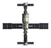Spacecrafts And Space Station Royalty Free Stock Photo