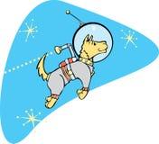 SpaceDog met Jetpack Royalty-vrije Stock Foto