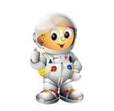 spaceman χαρακτήρα αστροναυτών Στοκ εικόνες με δικαίωμα ελεύθερης χρήσης