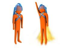 Spaceman #1 Royalty Free Stock Photos