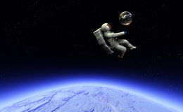 Spaceman 12 Stock Photography