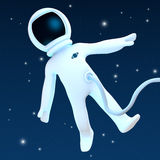 Spaceman Stock Image