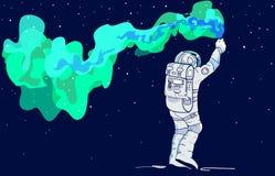 spaceman Στοκ φωτογραφία με δικαίωμα ελεύθερης χρήσης
