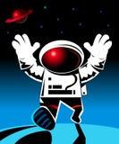 spaceman Arkivfoto