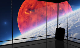 Spaceport fotografia de stock royalty free