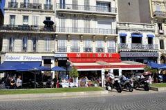 Spacer na starym porcie Marseille Zdjęcie Stock