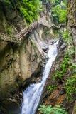 Spacer nad rzeka Fotografia Stock