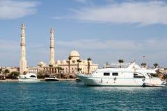 Spacer od Egipskich wybrzeży Zdjęcia Royalty Free