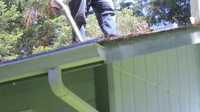 Spacer przez dach z dmuchawą zdjęcie wideo