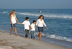 spacer rodziny Zdjęcie Royalty Free