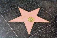 Spacer sławy gwiazda Ruth Elizabeth ` Bette ` Davis Zdjęcie Royalty Free