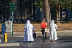 Spacer w Rzym Zdjęcie Stock