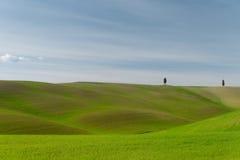 Spacer w Tuscany naturze Zdjęcia Royalty Free