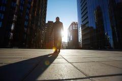 spacer w ulicie Zdjęcia Stock