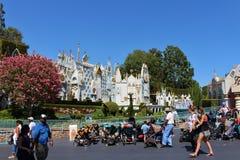 Spacerowicza parking, Disneyland fotografia royalty free