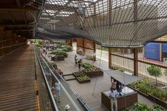 Spaceru Brazylia inside pawilon, expo 2015 Mediolan Obrazy Royalty Free