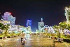 : Spaceru Nguyen odcienia ulica, Ho Chi Minh miasto, Wietnam Zdjęcia Royalty Free