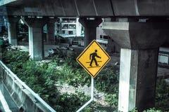 Spaceru ruch drogowy, transportu symbol jako uliczny fotografii pojęcie i znak i Obraz Stock
