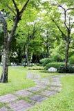 Spaceru sposób w parku zdjęcie stock