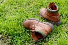 spacery butów. Fotografia Royalty Free