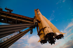 spaceship βάσεων εκτόξευσης Στοκ εικόνες με δικαίωμα ελεύθερης χρήσης