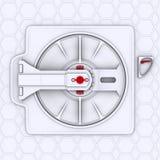 spaceship πορτών ελεύθερη απεικόνιση δικαιώματος