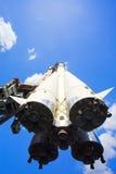 spaceship πυραύλων Στοκ Εικόνα