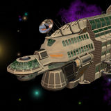 Spaceship 06 Stock Image
