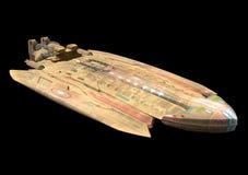spaceship Στοκ εικόνα με δικαίωμα ελεύθερης χρήσης