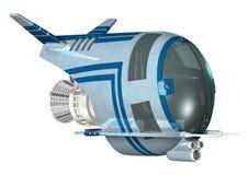 spaceship ilustração do vetor