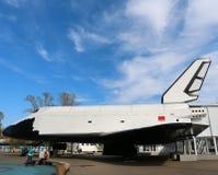 Spaceship Buran in Moscow Stock Photos