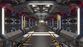 Free Spaceship Corridor Loop Stock Images - 211848424