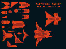 Spaceship Creation Kit Stock Photography