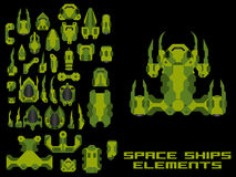 Spaceship Creation Kit Stock Images