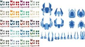 Spaceship Creation Kit Stock Image