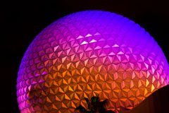 Epcot Center Spaceship Earth Stock Photos