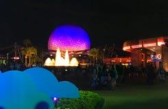 Spaceship Earth at Epcot Center, Orlando Florida Stock Image