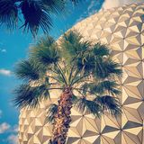 Spaceship Earth Royalty Free Stock Photo
