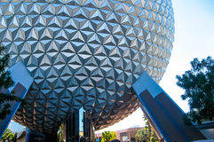 Spaceship Earth, Epcot Walt Disney World Stock Photos