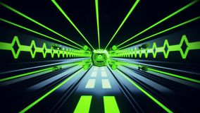 3D Green Sci-Fi Tron Tunnel Loopable Motion BackgroundSpaceship Flight inside a Sci-Fi Green Tunnel Motion Background. Spaceship Flight inside a Sci-Fi Green stock video footage