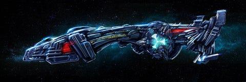 Spaceship stock illustration