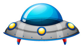 A spaceship toy. Illustration of a spaceship toy on a white background vector illustration