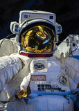Spacesuit close up stock photo