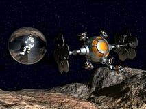 Spacewalk Stock Photo