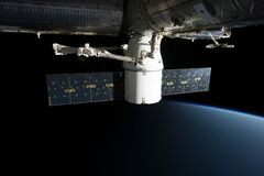 SpaceX COTS on ISS