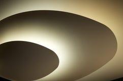 Spacey cirklar av brons Royaltyfria Bilder
